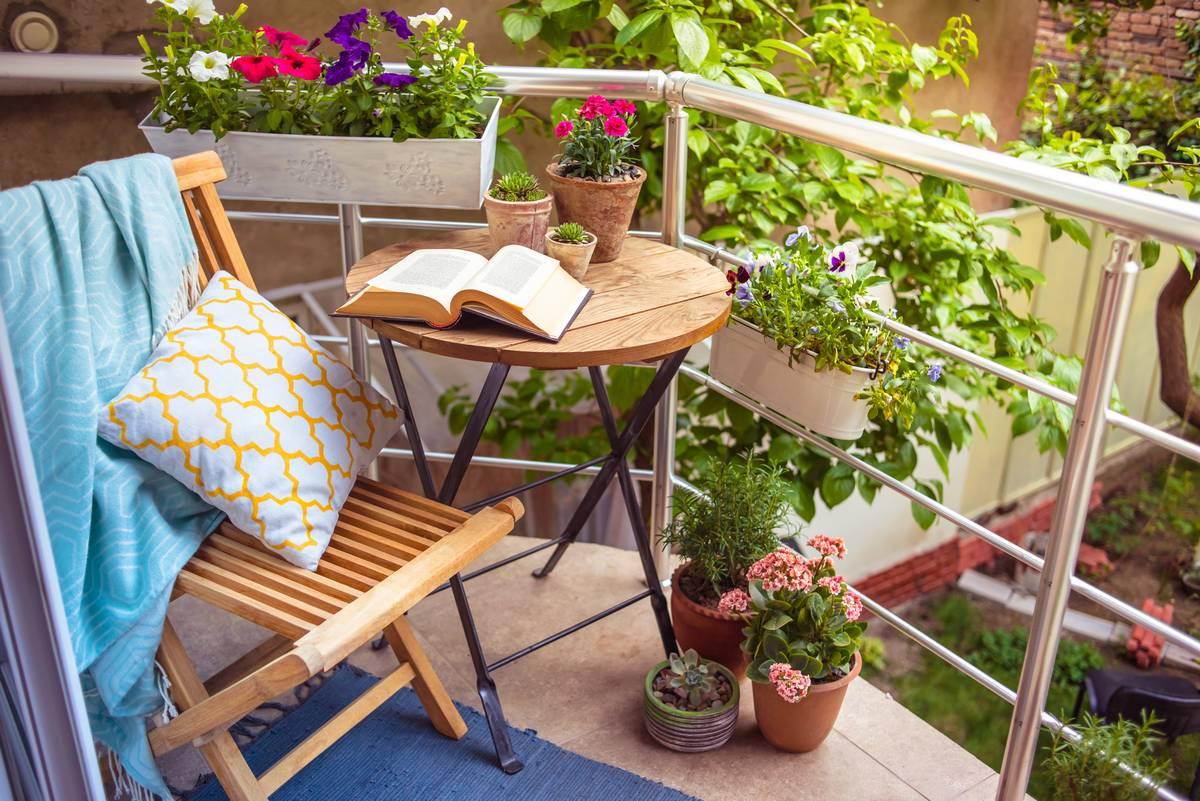 Un jardin en appartement