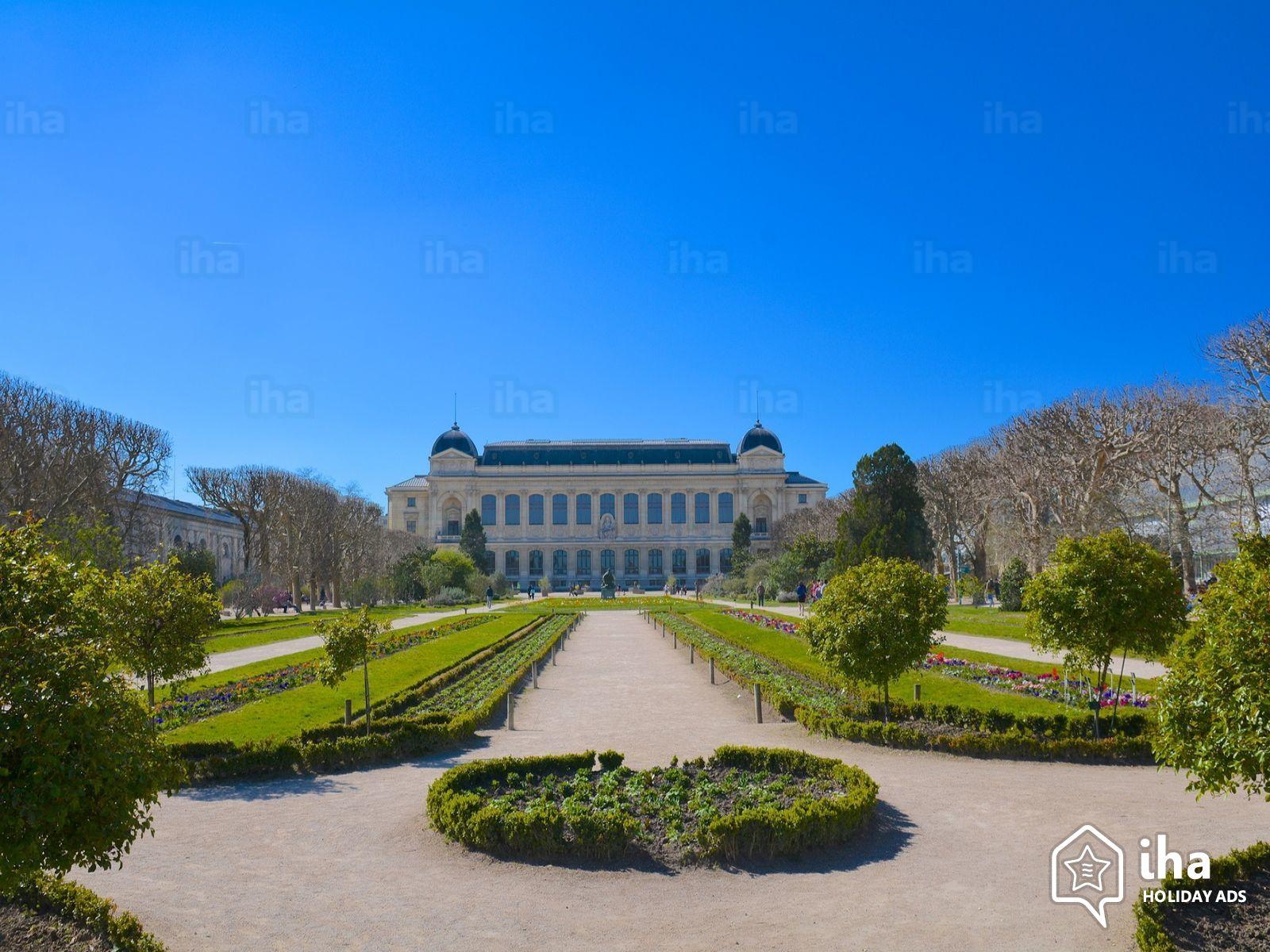 Le jardin des plantes à Paris