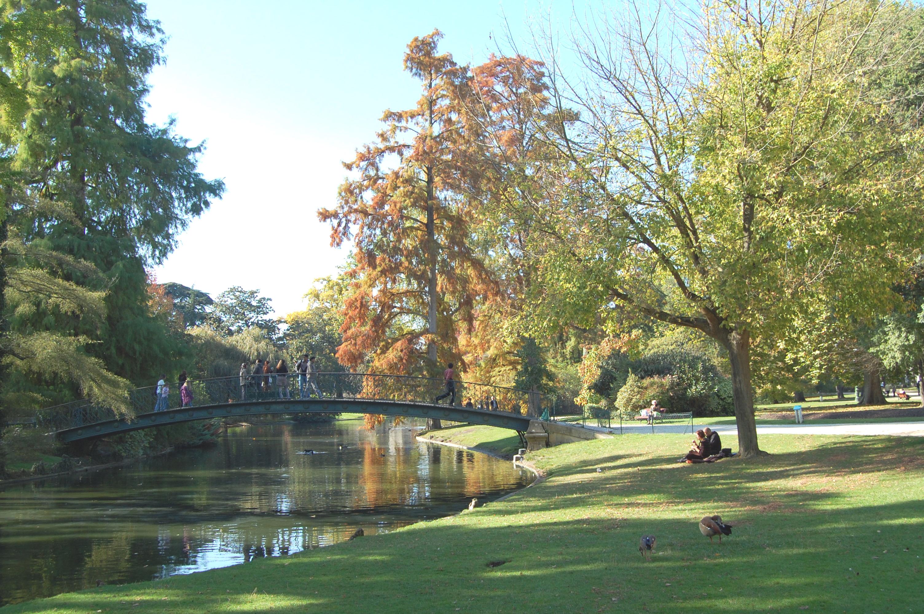 Le jardin public de Bordeaux