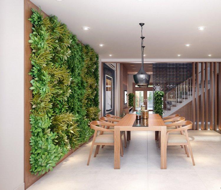 Un mur végétal pour son intérieur