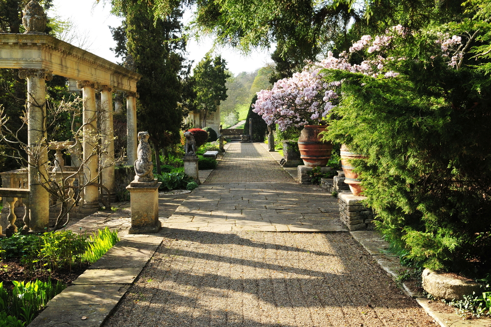 jardin style antique