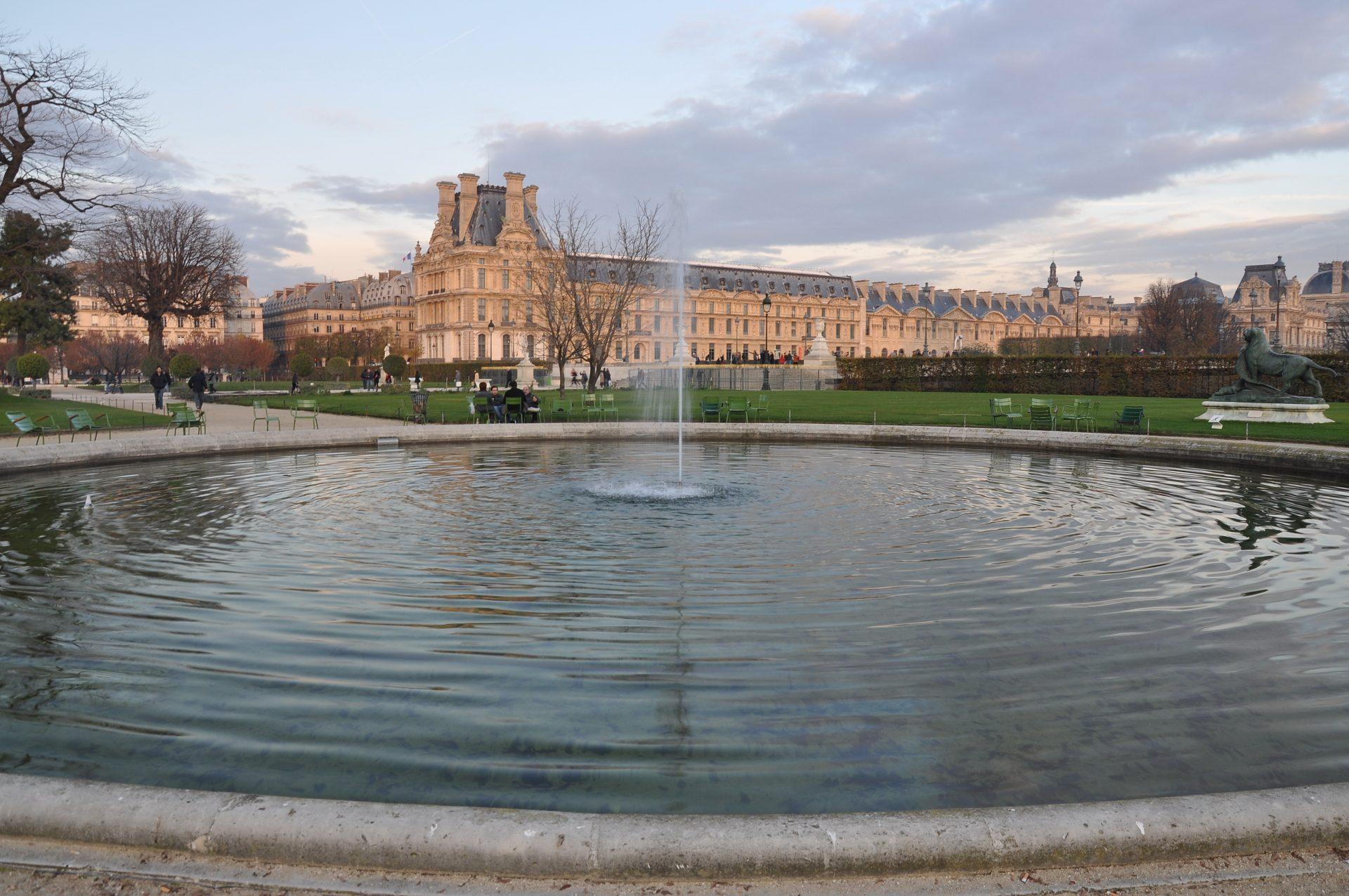Le jardin des Tuileries à Paris