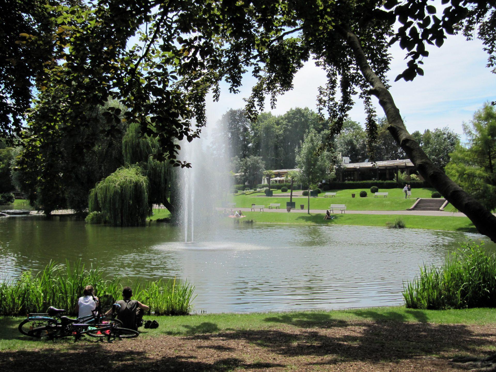 Les jardins publics en ville