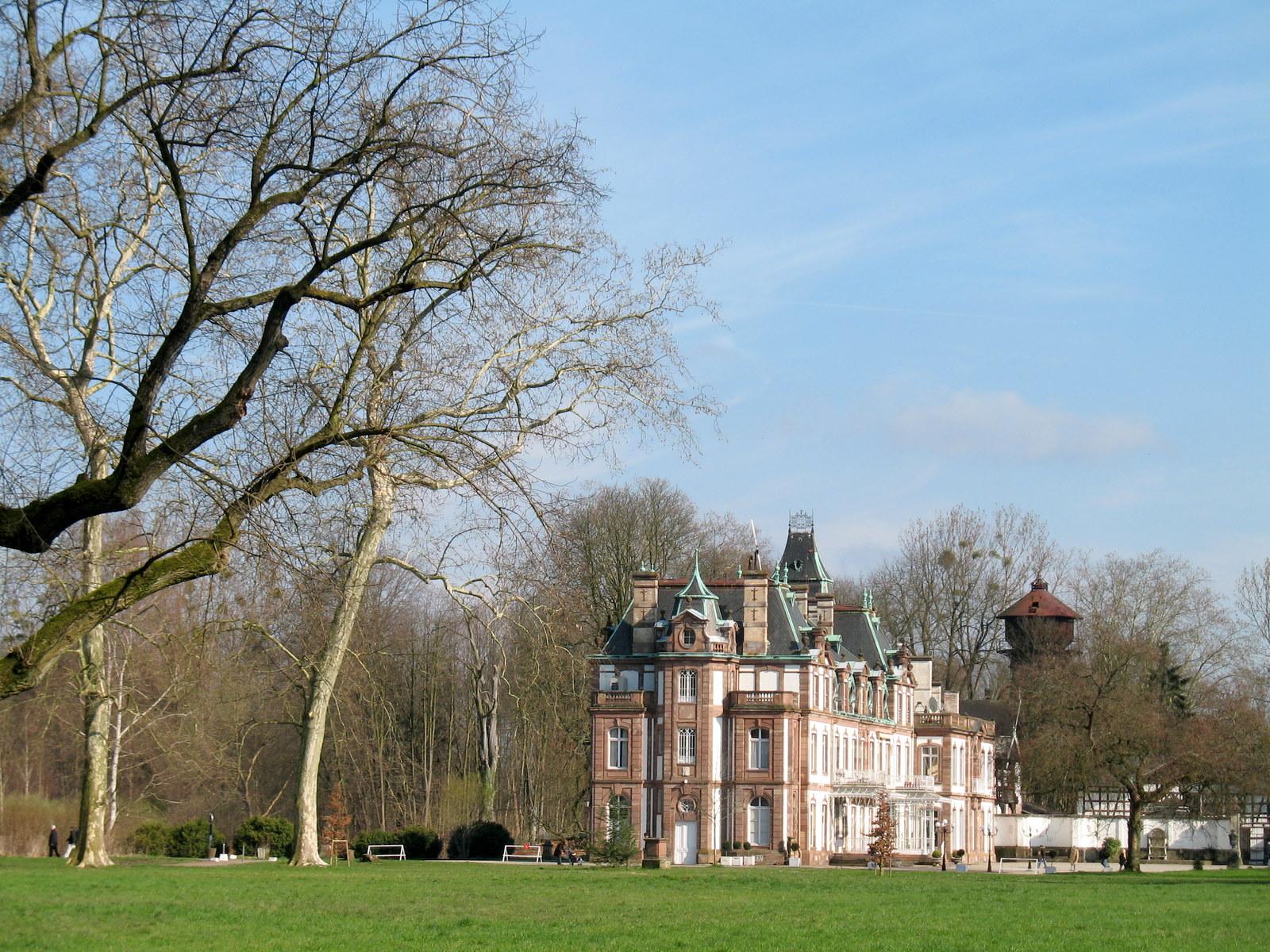 Le parc Pourtalès à Strasbourg