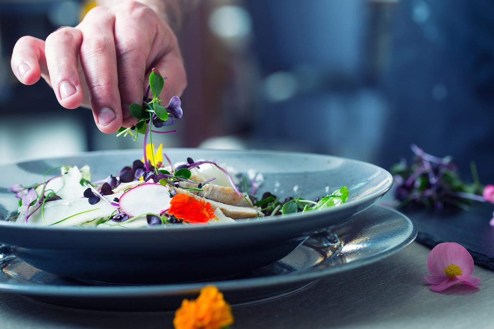 cuisiner avec des fleurs
