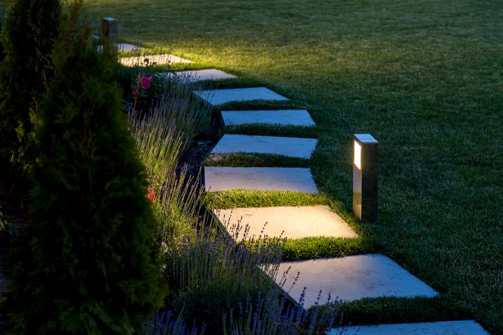 Installer un éclairage de jardin